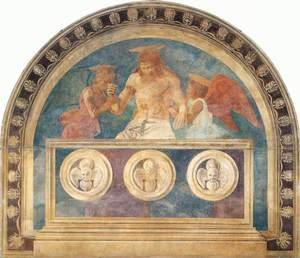 Renaissance - Early painting reproductions: Christ In The Sepulchre With Two Angels2