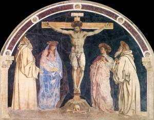 Renaissance - Early painting reproductions: Crucifixion 1455