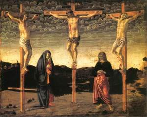 Renaissance - Early painting reproductions: Crucifixion2 1450