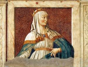 Renaissance - Early painting reproductions: Famous Persons Queen Esther 1450