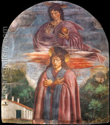 Andrea Del Castagno: St  Julian And The Redeemer - reproduction oil painting