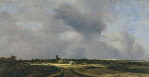 Reproduction oil paintings - Jacob Van Ruisdael - View Of Naarden