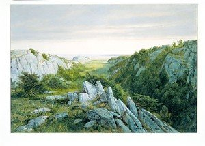 Reproduction oil paintings - William Trost Richards - From Paradise To Purgatory  Newport