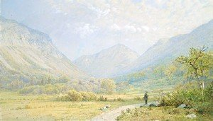Reproduction oil paintings - William Trost Richards - Franconia Notch  New Hampshire