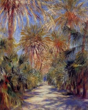 Famous paintings of Trees: Algiers  The Garden Of Essai