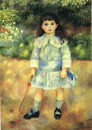 Famous paintings of Children: Child With A Whip