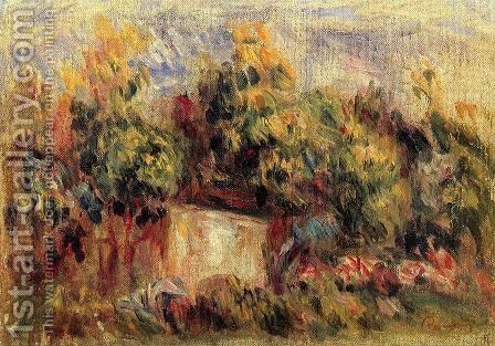 Cottage Near Collettes by Pierre Auguste Renoir - Reproduction Oil Painting