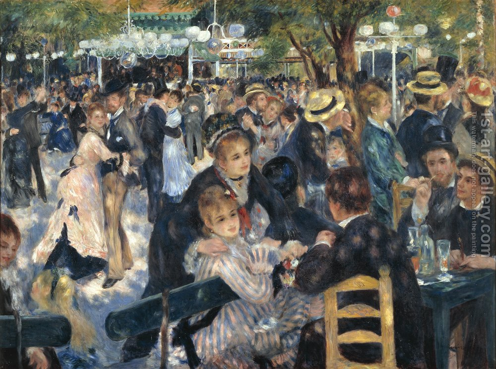 Huge version of Dance At The Moulin De La Galette