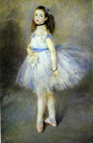 Famous paintings of Children: Dancer