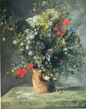 Famous paintings of Vases: Flowers In A Vase5