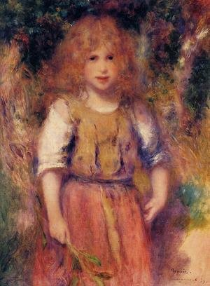 Famous paintings of Children: Gypsy Girl