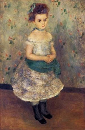 Famous paintings of Children: Jeanne Durand Ruel