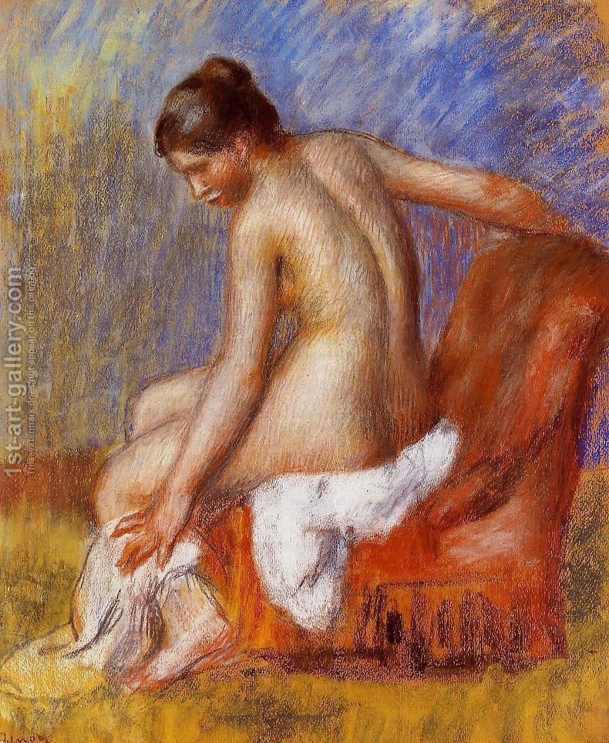Huge version of Nude In An Armchair