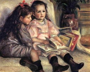 Famous paintings of Children: Portraits Of Two Children