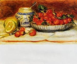 Famous paintings of Plates & Bowls: Strawberries