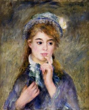 Famous paintings of Children: The Ingenue