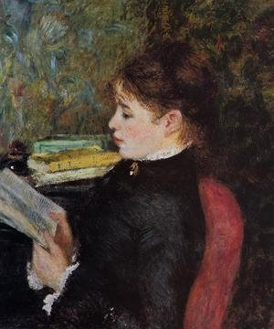 Famous paintings of Children: The Reader2