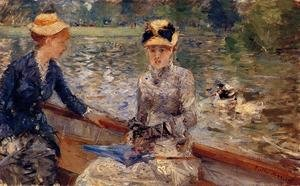 Reproduction oil paintings - Berthe Morisot - A Summer`s Day 1879