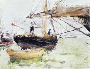 Reproduction oil paintings - Berthe Morisot - Aboard A Yacht