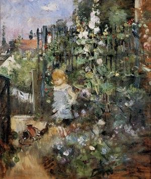 Reproduction oil paintings - Berthe Morisot - Child In The Rose Garden