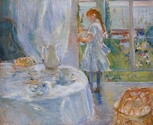 Reproduction oil paintings - Berthe Morisot - Cottage Interior Aka Interior At Jersey
