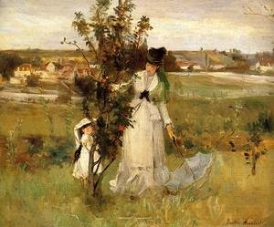 Reproduction oil paintings - Berthe Morisot - Hide and Seek 1873