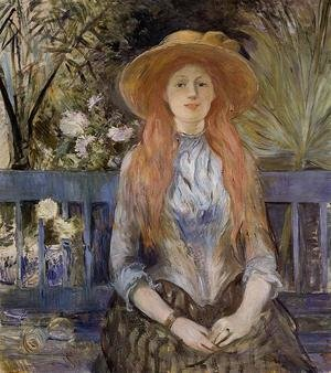 Reproduction oil paintings - Berthe Morisot - On A Bench
