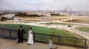 Reproduction oil paintings - Berthe Morisot - View of Paris from the Trocadero 1872