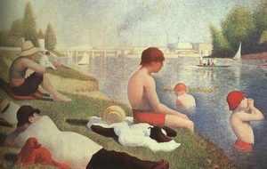Bathing At Asnieres 1884