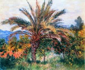 Famous paintings of Trees: A Palm Tree At Bordighera