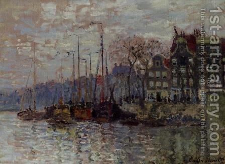 Amsterdam by Claude Oscar Monet - Reproduction Oil Painting