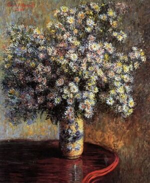 Famous paintings of Vases: Asters