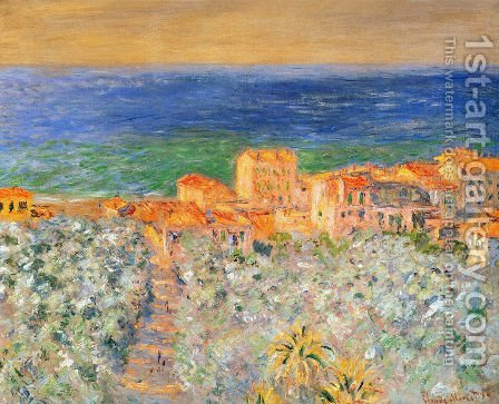 Bordighera by Claude Oscar Monet - Reproduction Oil Painting