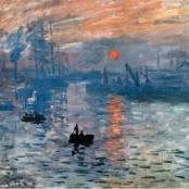 Oil painting reproductions - Rivers, Creeks & Canals - Claude Oscar Monet: Impression  Sunrise