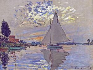Sailboat At Le Petit Gennevilliers