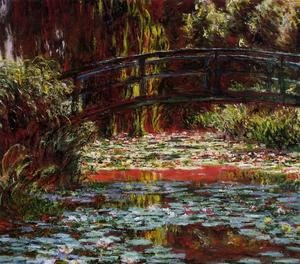 Impressionism painting reproductions: The Bridge Over The Water Lily Pond2
