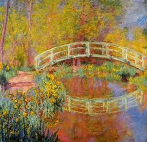 Impressionism painting reproductions: The Japanese Bridge At Giverny2