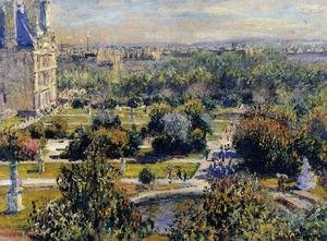 Famous paintings of Trees: The Tulleries