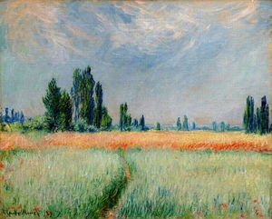 Impressionism painting reproductions: The Wheat Field