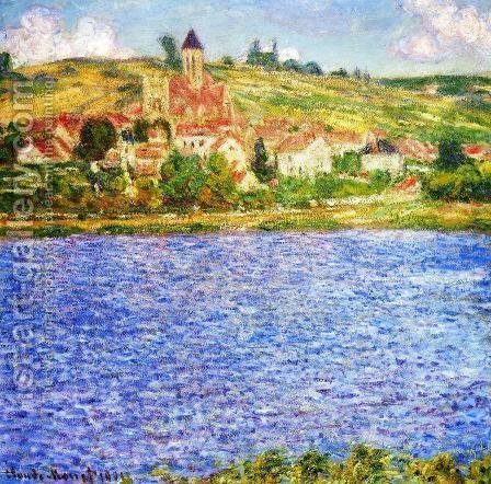 Claude Oscar Monet: Vetheuil  Afternoon - reproduction oil painting