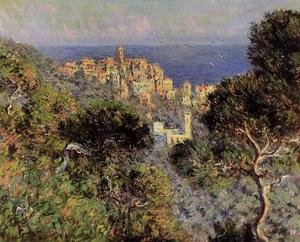 Impressionism painting reproductions: View Of Bordighera