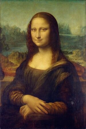 Famous paintings of People: Mona Lisa (La Gioconda) c. 1503-05