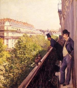 Reproduction oil paintings - Gustave Caillebotte - A Balcony