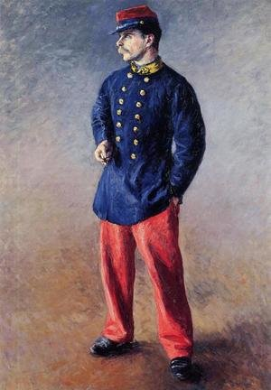 Reproduction oil paintings - Gustave Caillebotte - A Soldier