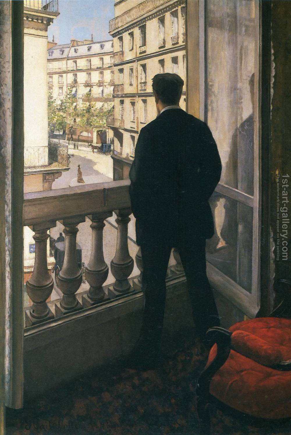 Huge version of A Young Man At His Window