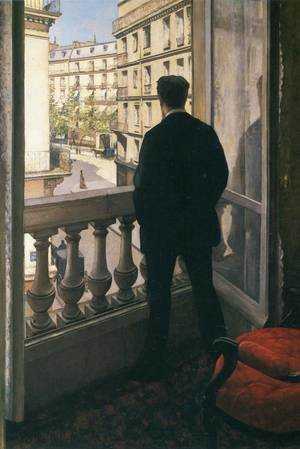 Reproduction oil paintings - Gustave Caillebotte - A Young Man At His Window