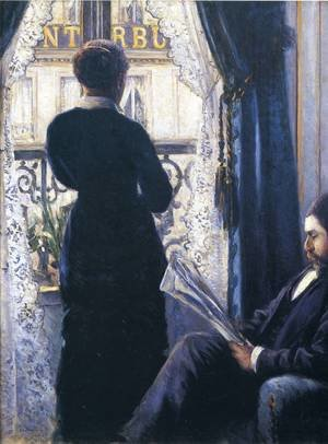 Reproduction oil paintings - Gustave Caillebotte - Interior2