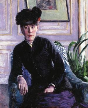 Portrait Of A Young Woman In An Interior Aka Portrait Of Madame H