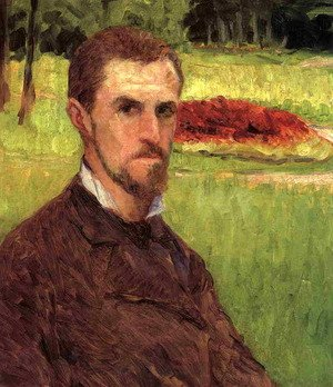 Self Portrait In The Park At Yerres