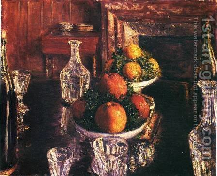 Gustave Caillebotte: Still Life - reproduction oil painting